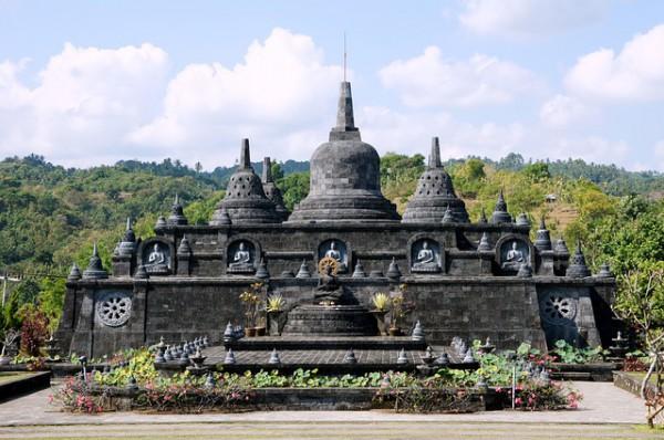 Templu hindus in Bali