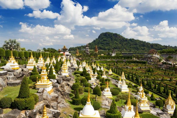 gradina tropicala Nong Nooch din Pattaya